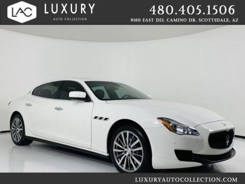 2016 Maserati Quattroporte for sale at Luxury Auto Collection in Scottsdale AZ