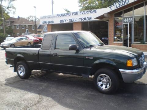 2003 Ford Ranger for sale at DTH FINANCE LLC in Toledo OH