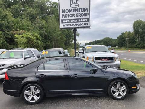 2010 Ford Fusion for sale at Momentum Motor Group in Lancaster SC