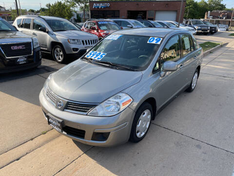 2009 Nissan Versa for sale at AM AUTO SALES LLC in Milwaukee WI