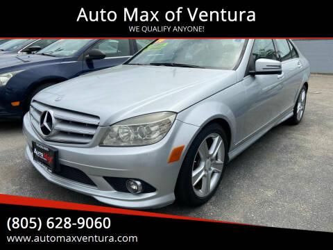 2010 Mercedes-Benz C-Class for sale at Auto Max of Ventura in Ventura CA