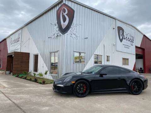 2016 Porsche 911 for sale at Barrett Auto Gallery in San Juan TX