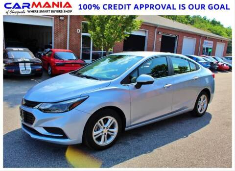 2017 Chevrolet Cruze for sale at CARMANIA LLC in Chesapeake VA