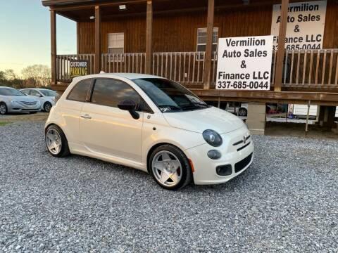 2012 FIAT 500 for sale at Vermilion Auto Sales & Finance in Erath LA