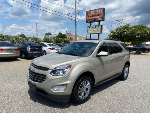2016 Chevrolet Equinox for sale at Autohaus of Greensboro in Greensboro NC