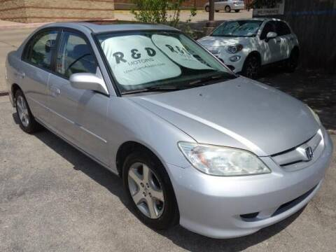 2004 Honda Civic for sale at R & D Motors in Austin TX
