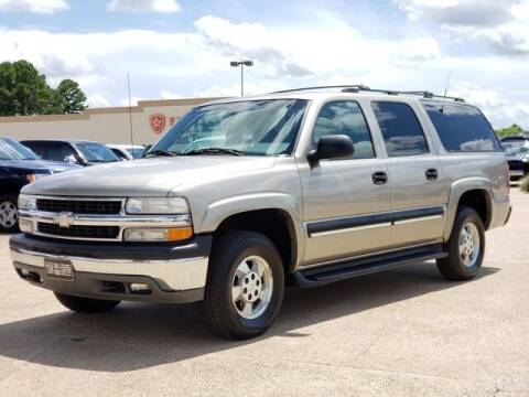 2001 Chevrolet Suburban for sale at Tyler Car  & Truck Center in Tyler TX