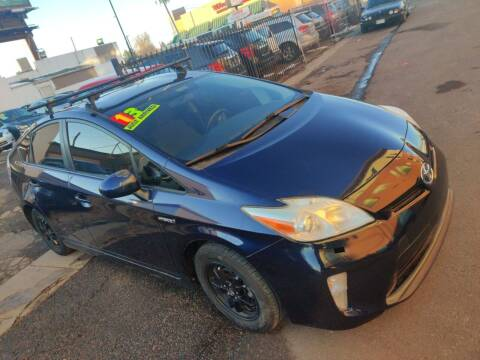2013 Toyota Prius for sale at Sanaa Auto Sales LLC in Denver CO