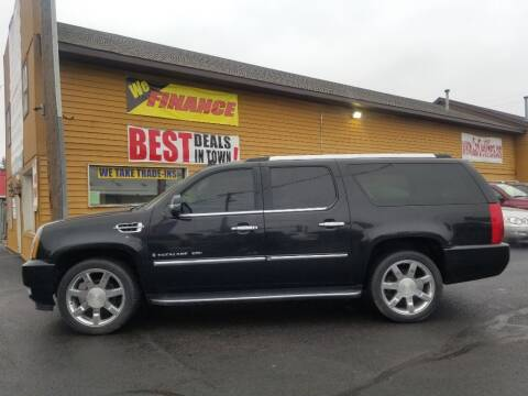 2008 Cadillac Escalade ESV for sale at American Auto Group LLC in Saginaw MI