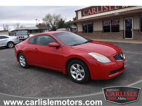 2009 Nissan Altima for sale at Carlisle Motors in Lubbock TX