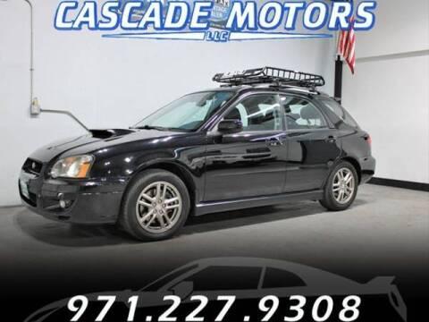 2005 Subaru Impreza for sale at Cascade Motors in Portland OR