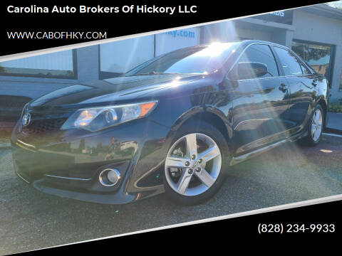 2014 Toyota Camry for sale at Carolina Auto Brokers of Hickory LLC in Newton NC