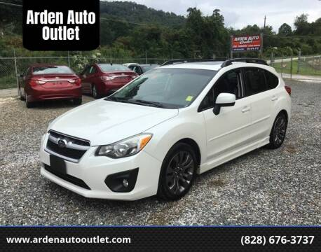 2014 Subaru Impreza for sale at Arden Auto Outlet in Arden NC