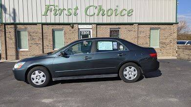 2005 Honda Accord for sale at First Choice Auto in Greenville SC