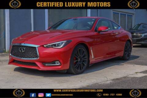 2017 Infiniti Q60 for sale at Certified Luxury Motors in Great Neck NY