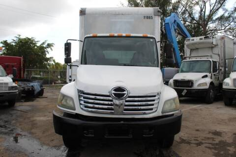 2008 Hino 268 for sale at Truck and Van Outlet in Miami FL