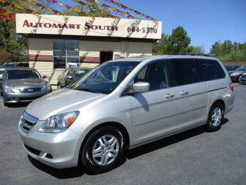2006 Honda Odyssey for sale at Automart South in Alabaster AL