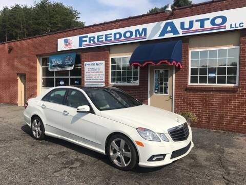 2011 Mercedes-Benz E-Class for sale at FREEDOM AUTO LLC in Wilkesboro NC