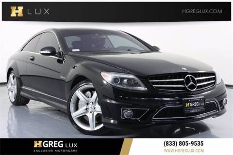 2008 Mercedes-Benz CL-Class for sale at HGREG LUX EXCLUSIVE MOTORCARS in Pompano Beach FL