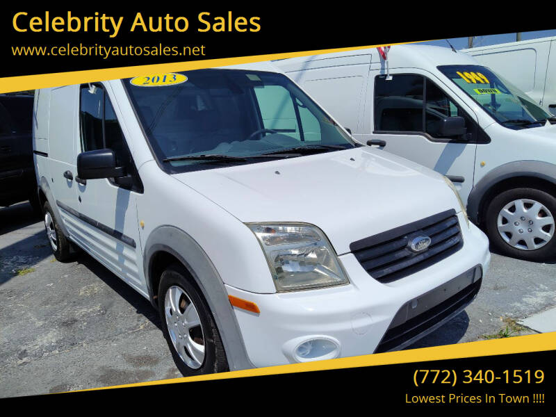 2013 Ford Transit Connect for sale at Celebrity Auto Sales in Port Saint Lucie FL