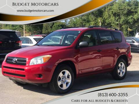 2008 Toyota RAV4 for sale at Budget Motorcars in Tampa FL