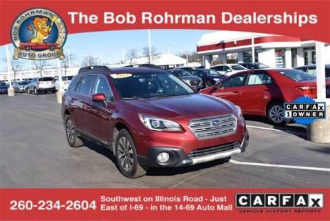 2017 Subaru Outback for sale at BOB ROHRMAN FORT WAYNE TOYOTA in Fort Wayne IN