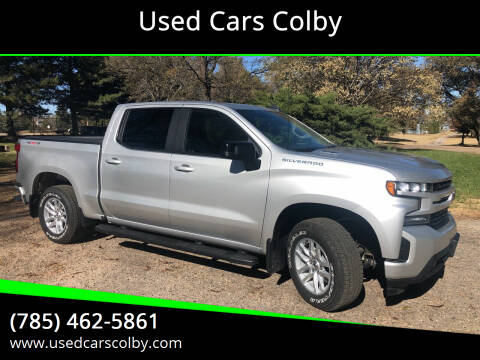 2020 Chevrolet Silverado 1500 for sale at Used Cars Colby in Colby KS