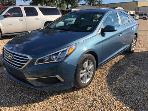 2017 Hyundai Sonata for sale at Community Auto Specialist in Gonzales LA