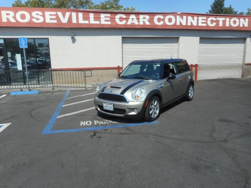 2010 MINI Cooper Clubman for sale at ROSEVILLE CAR CONNECTION in Roseville CA