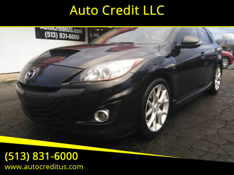 2011 Mazda MAZDASPEED3 for sale at Auto Credit LLC in Milford OH