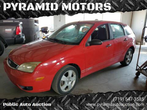 2007 Ford Focus for sale at PYRAMID MOTORS - Pueblo Lot in Pueblo CO