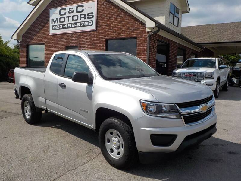 2018 Chevrolet Colorado for sale at C & C MOTORS in Chattanooga TN