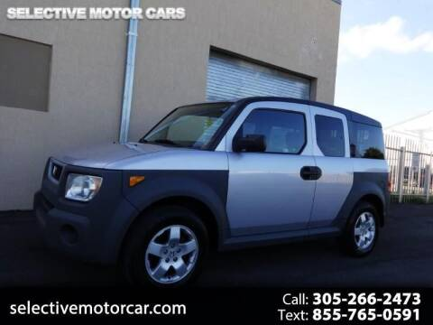 2003 Honda Element for sale at Selective Motor Cars in Miami FL