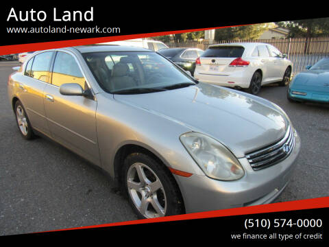 2006 Infiniti G35 for sale at Auto Land in Newark CA