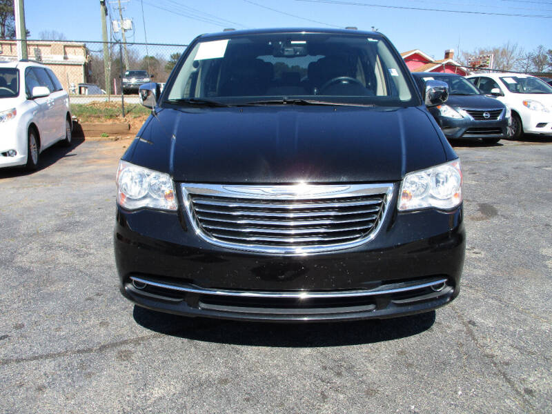 2012 Chrysler Town and Country for sale at LOS PAISANOS AUTO & TRUCK SALES LLC in Peachtree Corners GA