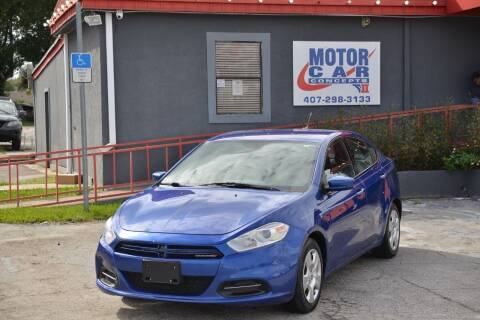 2013 Dodge Dart for sale at Motor Car Concepts II - Kirkman Location in Orlando FL