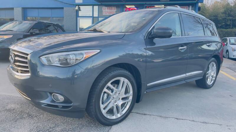 2013 Infiniti JX35 for sale at Capital Motors in Raleigh NC