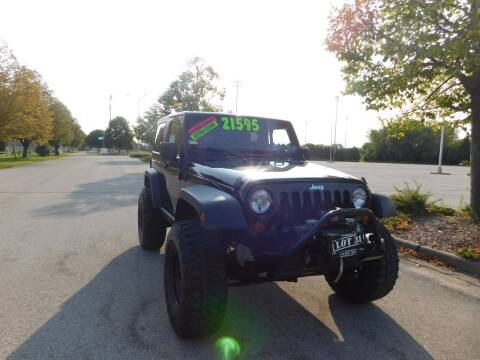2012 Jeep Wrangler for sale at Lot 31 Auto Sales in Kenosha WI