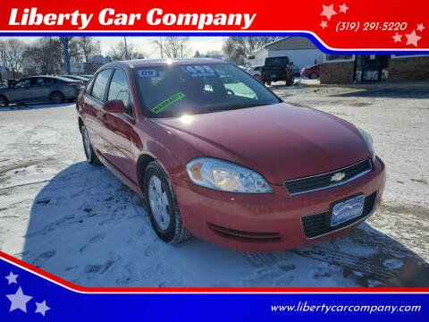 2009 Chevrolet Impala for sale at Liberty Car Company in Waterloo IA
