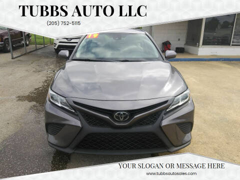 2019 Toyota Camry for sale at Tubbs Auto LLC in Tuscaloosa AL