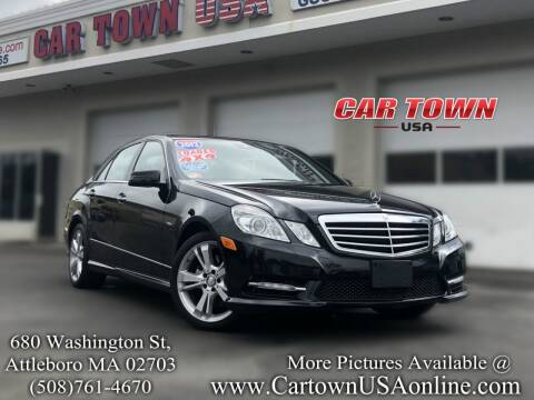 2012 Mercedes-Benz E-Class for sale at Car Town USA in Attleboro MA