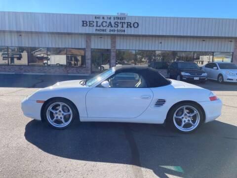 2003 Porsche Boxster for sale at Belcastro Motors in Grand Junction CO