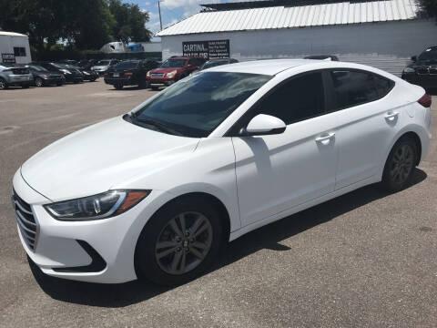 2017 Hyundai Elantra for sale at Cartina in Tampa FL