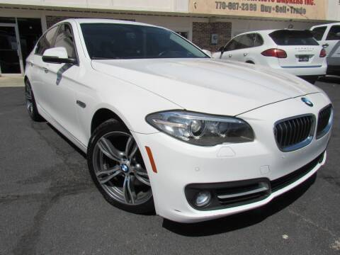2015 BMW 5 Series for sale at North Georgia Auto Brokers in Snellville GA