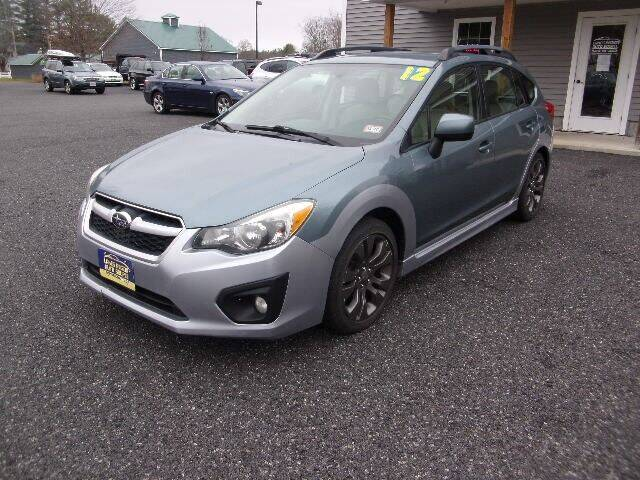 2012 Subaru Impreza for sale at Lakes Region Auto Source LLC in New Durham NH