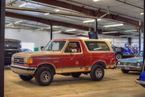 1990 Ford Bronco for sale at Hooked On Classics in Watertown MN