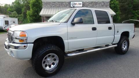 2006 GMC Sierra 1500 for sale at Driven Pre-Owned in Lenoir NC