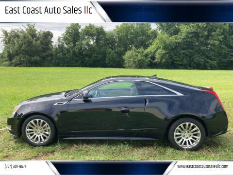 2013 Cadillac CTS for sale at East Coast Auto Sales llc in Virginia Beach VA
