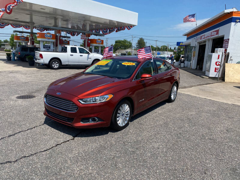 2014 Ford Fusion Hybrid for sale at 1020 Route 109 Auto Sales in Lindenhurst NY