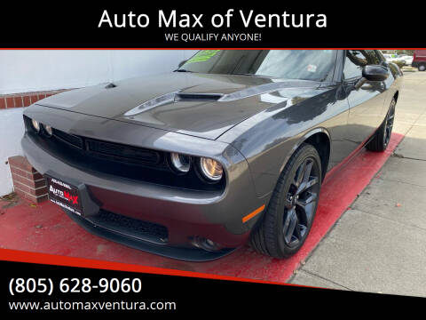 2019 Dodge Challenger for sale at Auto Max of Ventura in Ventura CA